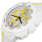 White Resin Chronograph with Date Fall Winter Collection Swatch