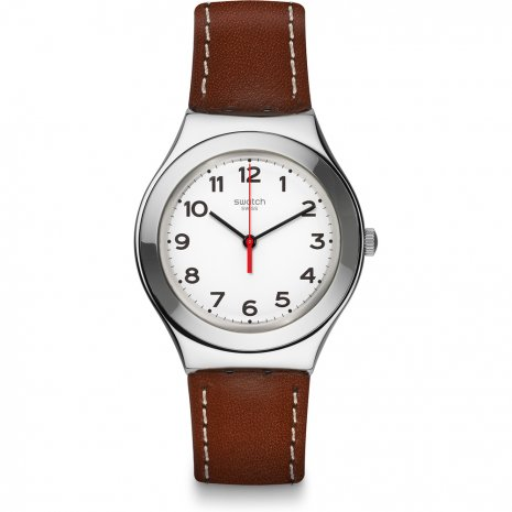 Swatch Strictly Silver watch