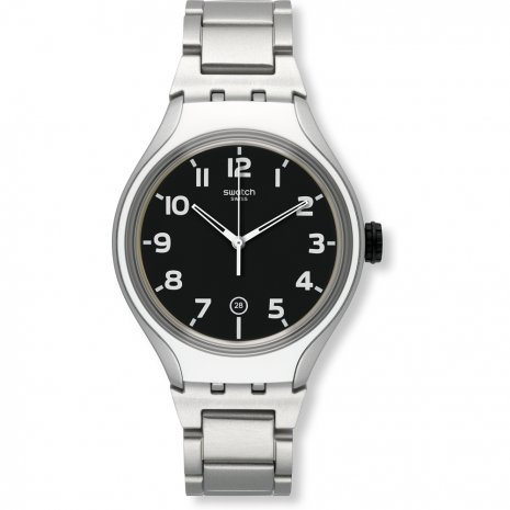 Swatch Stripe Back watch