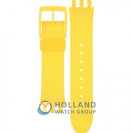 Swatch SUIJ400 Yellow Run Strap
