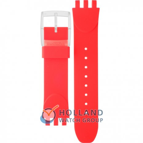 Swatch SUIK405 Red Toxin Strap