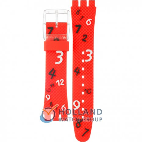 Swatch SUJK121C Happy Numbers Strap