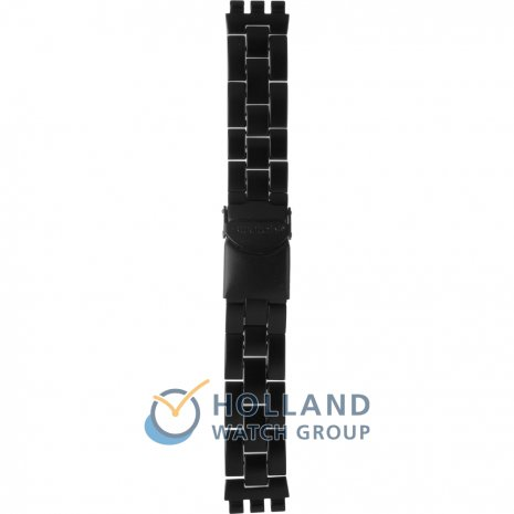 Swatch SVCF4001AG Full-Blooded Black Skull Strap