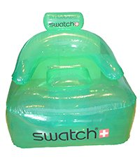 SWATCHCHAIR Swatch Inflatable Beach Chair