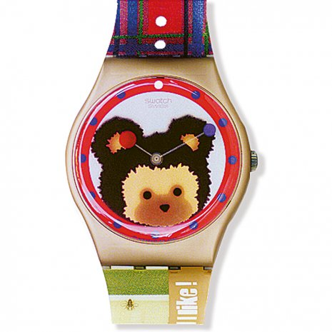 Swatch Sweet Teddy watch