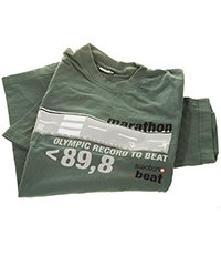 SHIRT13 T-shirt Swatch Beat Marathon