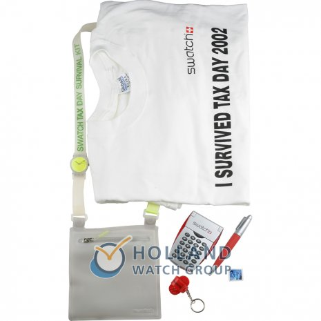 Swatch Tax Day Survival Kit (Tracolla) watch