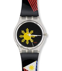 GK268 The Philippines Centennial Swatch 34mm