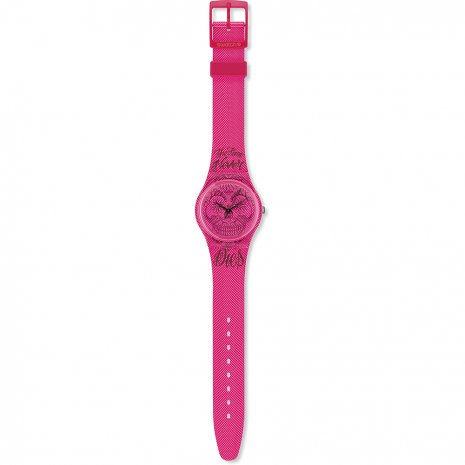 Swatch Time Never Dies Pink watch
