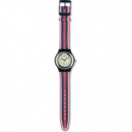 Swatch Time & Stripes watch