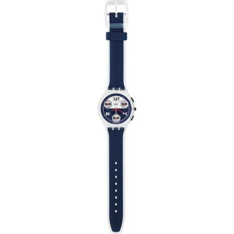 Swatch Total Blue watch