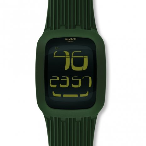Swatch Touch Olive watch