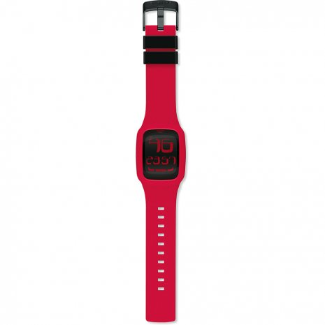 Swatch Touch Red watch