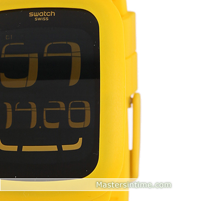 watch yellow Quartz Digital