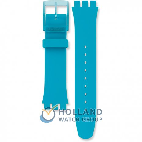 Swatch SUOL700 Turquoise Rebel Strap