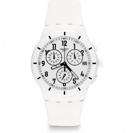 Swatch Twice Again White watch