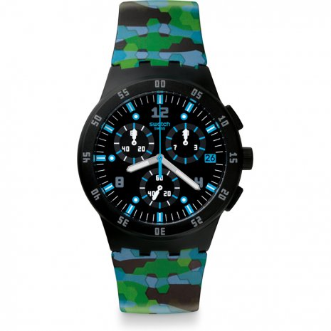 Swatch Urban Jungle watch