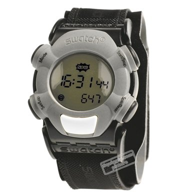 watch black Quartz Digital