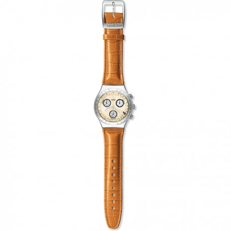 Swatch Wheeling Creme watch