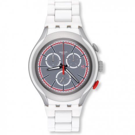 Swatch White Attack watch
