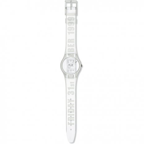 Swatch White Card watch