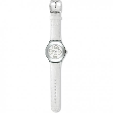 Swatch White Folie watch