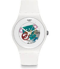 SUOW100 White Lacquered 41mm
