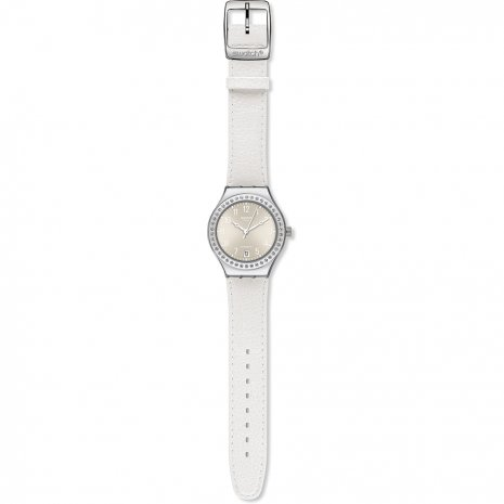 Swatch Whitematic watch