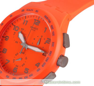 Plastic Chronograph with date Spring Summer Collection Swatch