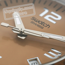 XL Steel Nabab Watch with Date Spring Summer Collection Swatch
