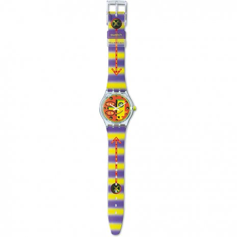 Swatch Wired watch