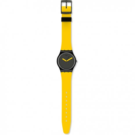 Swatch Yellow 'N Brown watch