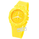 watch yellow Quartz Chronograph
