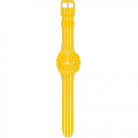 Swatch Yellow Run watch